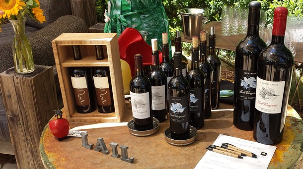 Lail Vineyards tastings